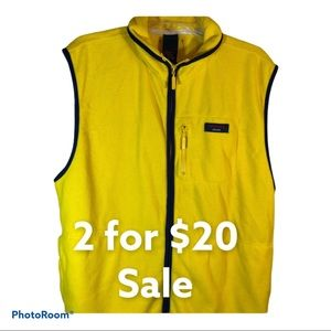 Tommy Jeans Yellow Vest Size Large